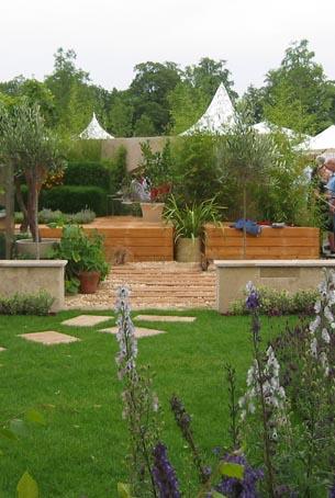 Ruta por inglaterra hampton court for Jardin geometrico