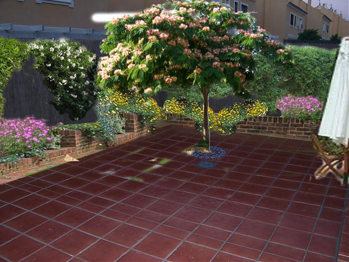 Patio con arriate y alcorque en sevilla c mo decorarlo - Arriate plantas ...