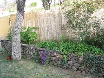 Foto de jardinera volc nica de piedra volc nica de la zona - Imagenes de jardineras ...
