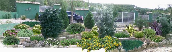 Ajardinar un talud con traviesas de tren sugerencias for El jardin de la lola