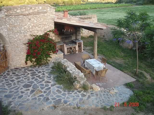 Fotos de r sticos estilo r stico jard n piscina - Jardines rusticos pequenos ...