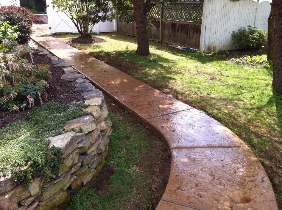 Hormigón impreso caminos y otros trabajos para jardines  Página 16