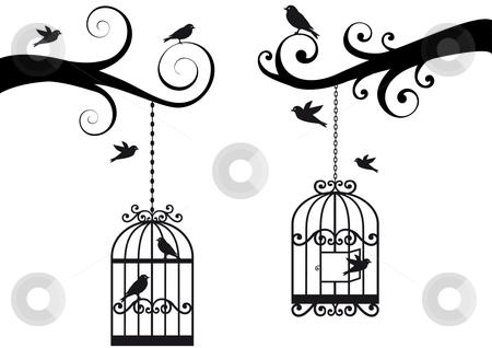 cutcaster-photo-100738288-birdcage-and-birds-vector.jpg