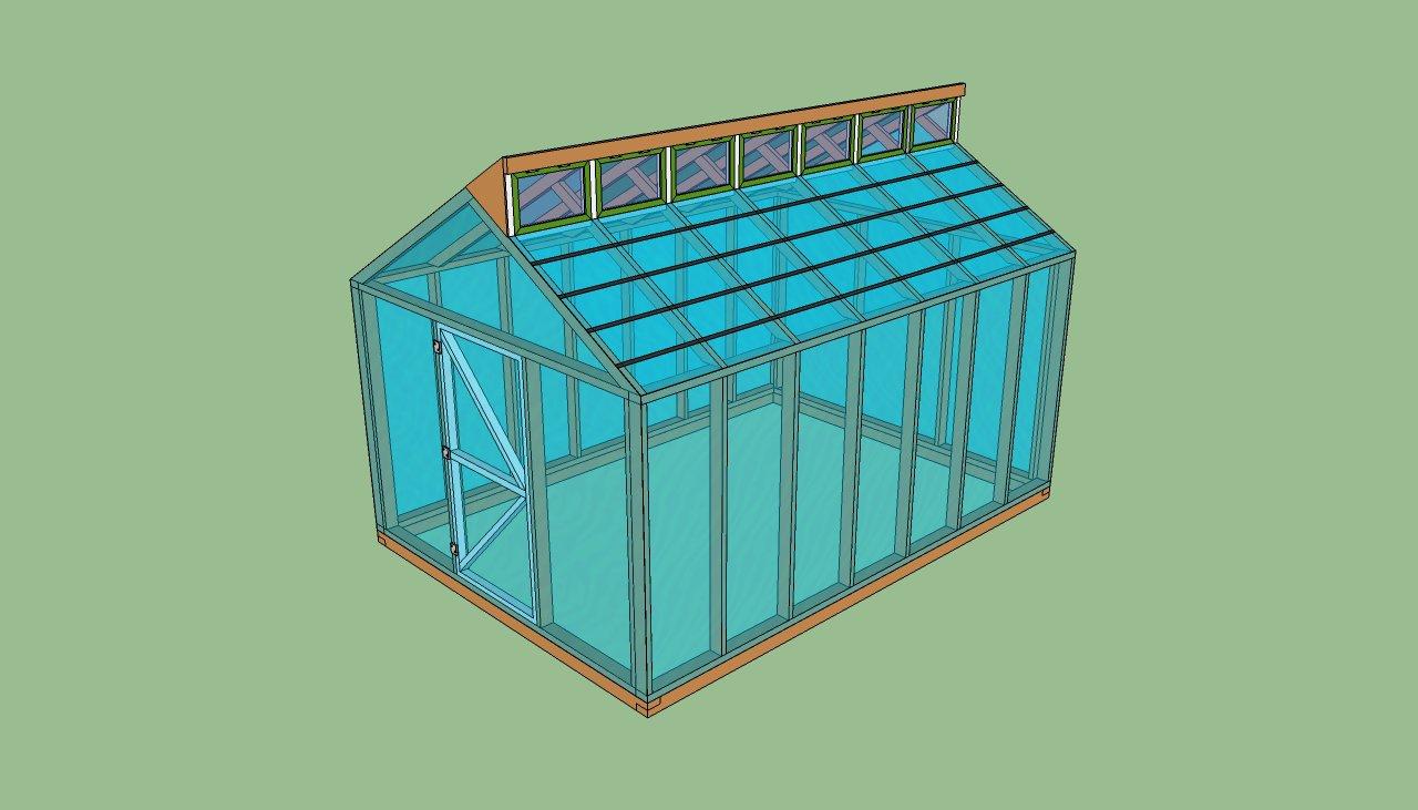 C mo construir un invernadero de madera paso a paso for Como iniciar un vivero en casa