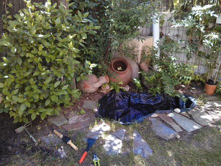 Arreglar peque o estanque abandonado - Arreglar jardin abandonado ...