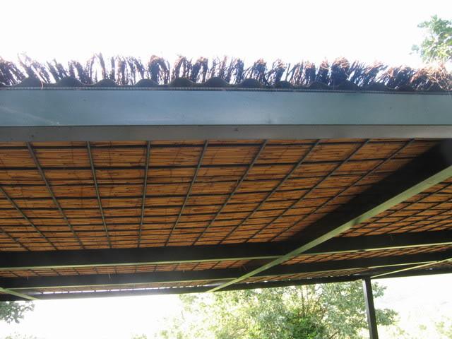 P rgola con cubierta para dar sombra en una terraza quiero for Tejados para pergolas