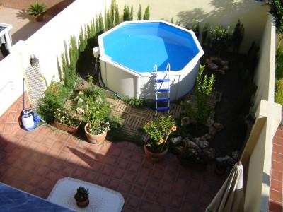 Foto de mi patio para recibir consejos - Como decorar mi patio pequeno ...