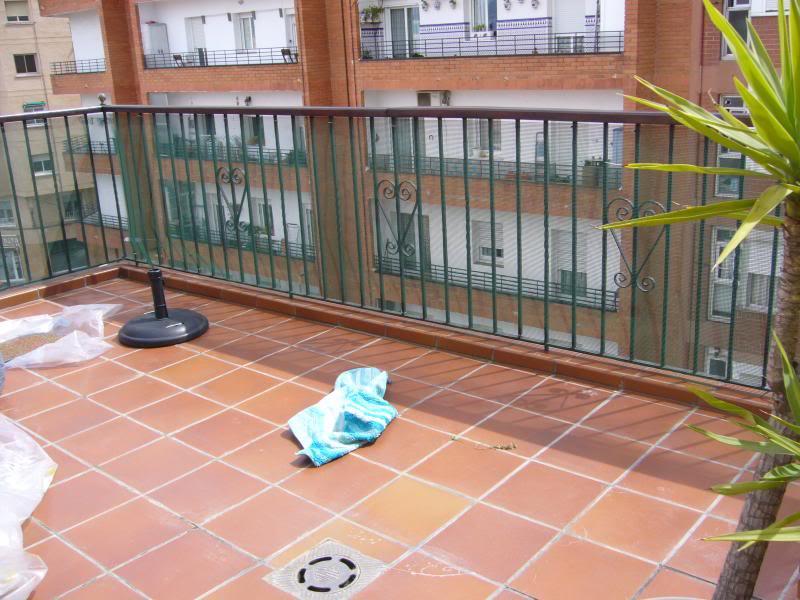 Os presento mi terraza y dadme consejos for Amaru en la puerta de un jardin