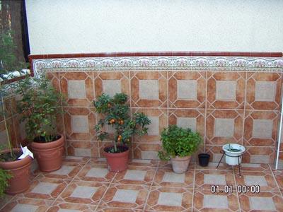 Dise ar un patio enlosado quiz s hacer un arriate c mo for Ceramica patios fotos