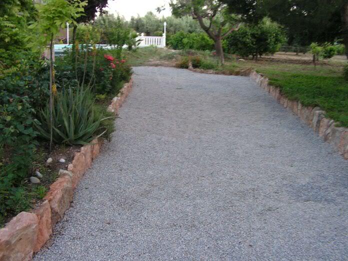 Grava para jardin precio grava canto rodado decoracin - Gravas para jardin ...