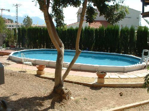 Piscinas para enterrar excellent cascatas para piscinas - Piscinas desmontables enterradas ...