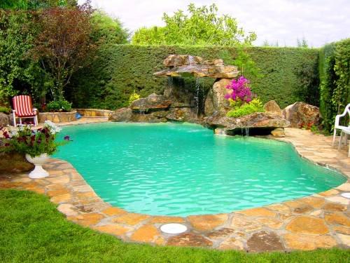 Diseño alrededor de piscinas