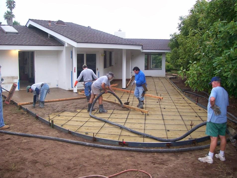 Hormig n impreso caminos y otros trabajos para jardines - Como hacer un piso de hormigon ...