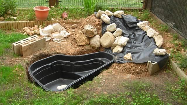 Fotos de mi estanque prefabricado cascada filtro casero for Cascada estanque